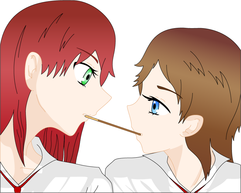 The Pocky Game by Ayahime0