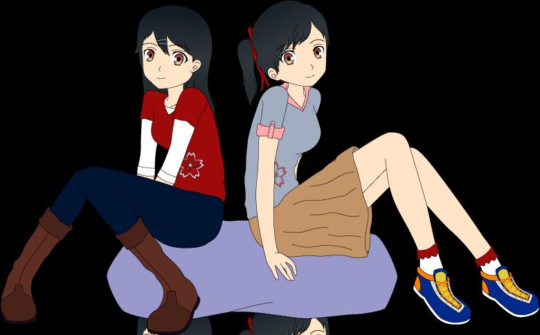 Otani Sisters by Ayahime0