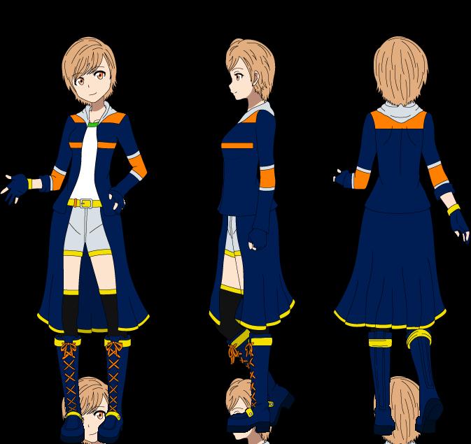 SAO OC: Asuka Yuuki (Outfit 2) by Ayahime0