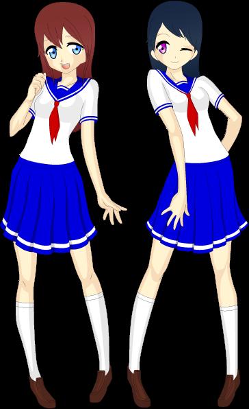 Risa and Miyu by Ayahime0