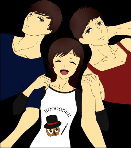 Ashihara Siblings by Ayahime0