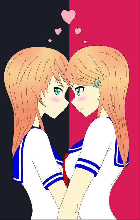 Hana and Yuna Kirigaya 2 by Ayahime0