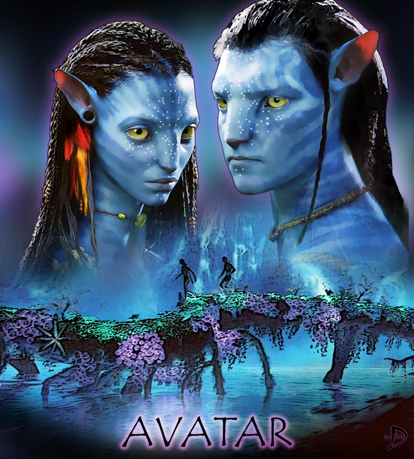 Neytiri Avatar: Neytiri_and_Jake_Movieposter By Dekanykic On DeviantART