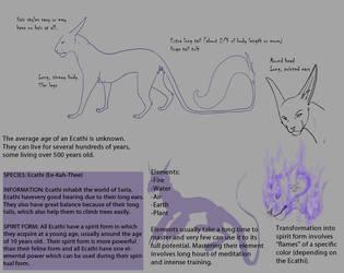 Ecathi Species Sheet 3.0 by anelalani