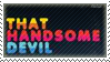 That Handsome Devil Stamp by infinitywaltz