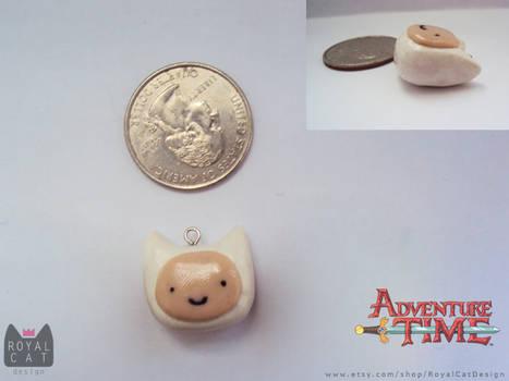 Adventure Time Finn Charm