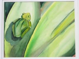 The Frog by IWishIHadWingZ
