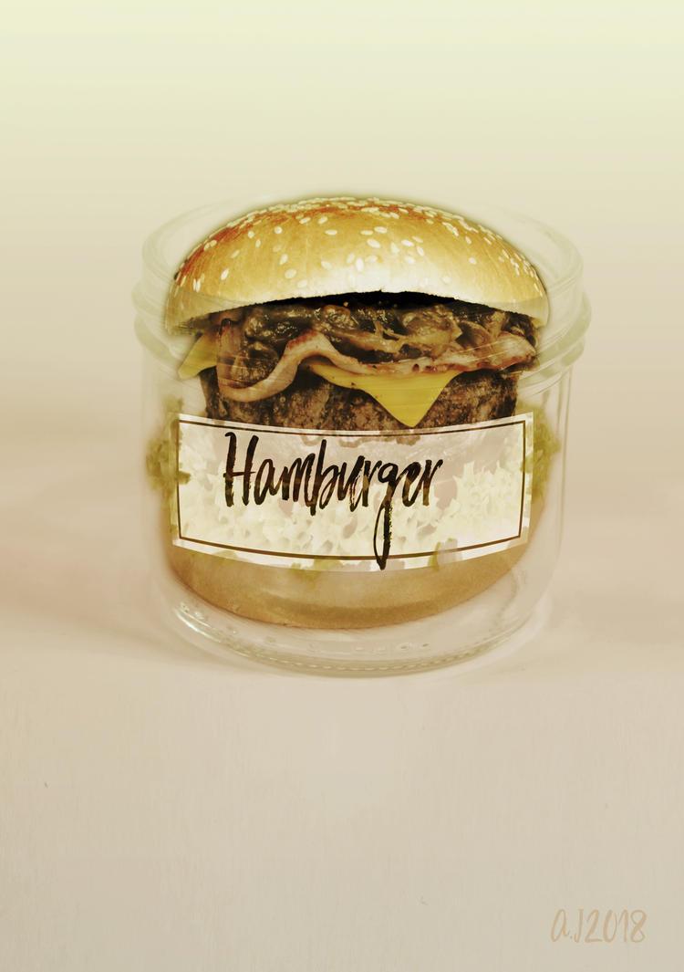 Hamburger en pot by Julien083