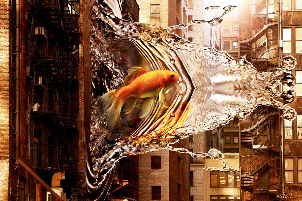 Fish building by Julien083