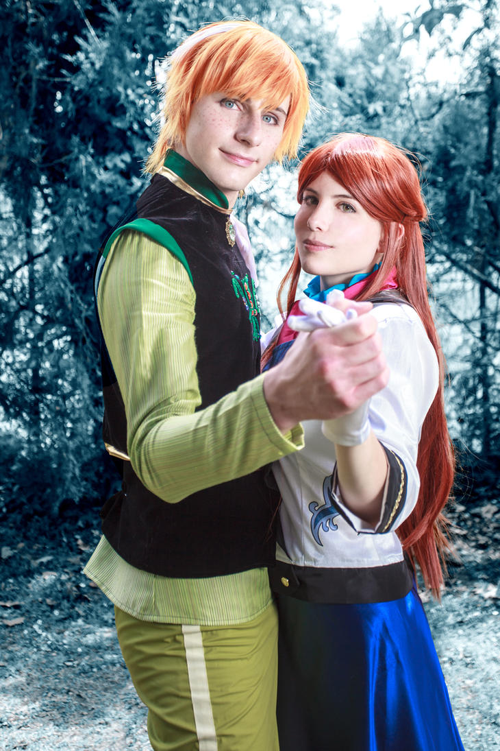 [Frozen] Anna and Hans 2 (Gender Bend version) by rinoafatali