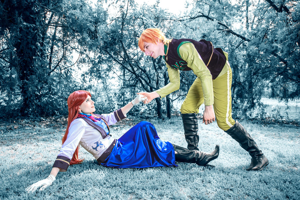 [Frozen] Anna and Hans 1 (Gender Bend version) by rinoafatali