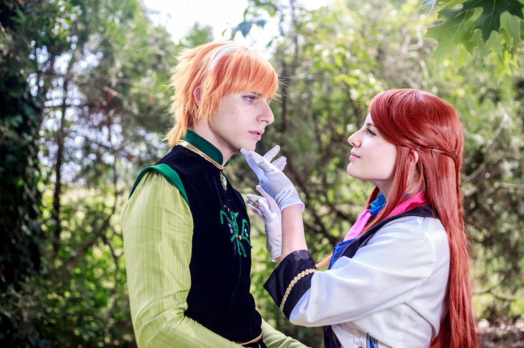 [Frozen] Anna and Hans 5 (Gender Bend version) by rinoafatali