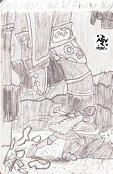 A Hero's Trails Doodle 52