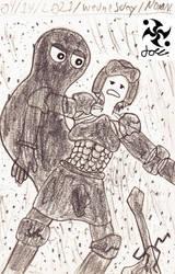 A Hero's Trails Doodle 53