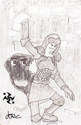 A Hero's Trails Doodle 56