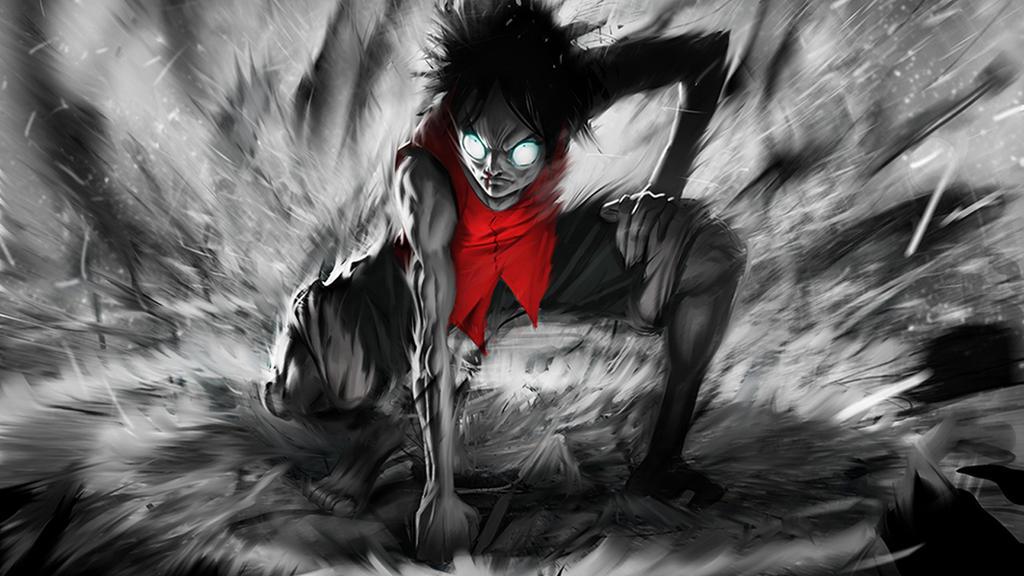 Luffy Anime Hd Wallpaper 1920x1080 By Netfire1 On Deviantart