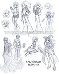 RPG World Sketches