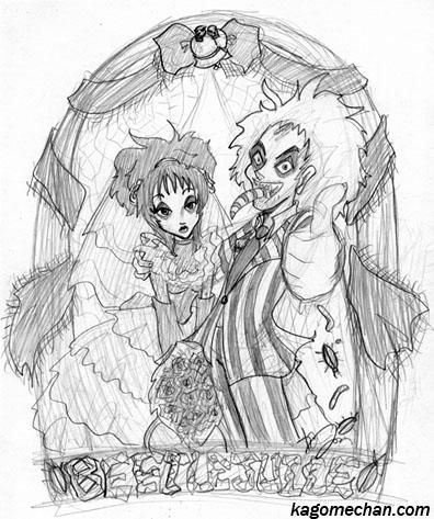 Beetlejuice: Wedding Day by I-heart-Link