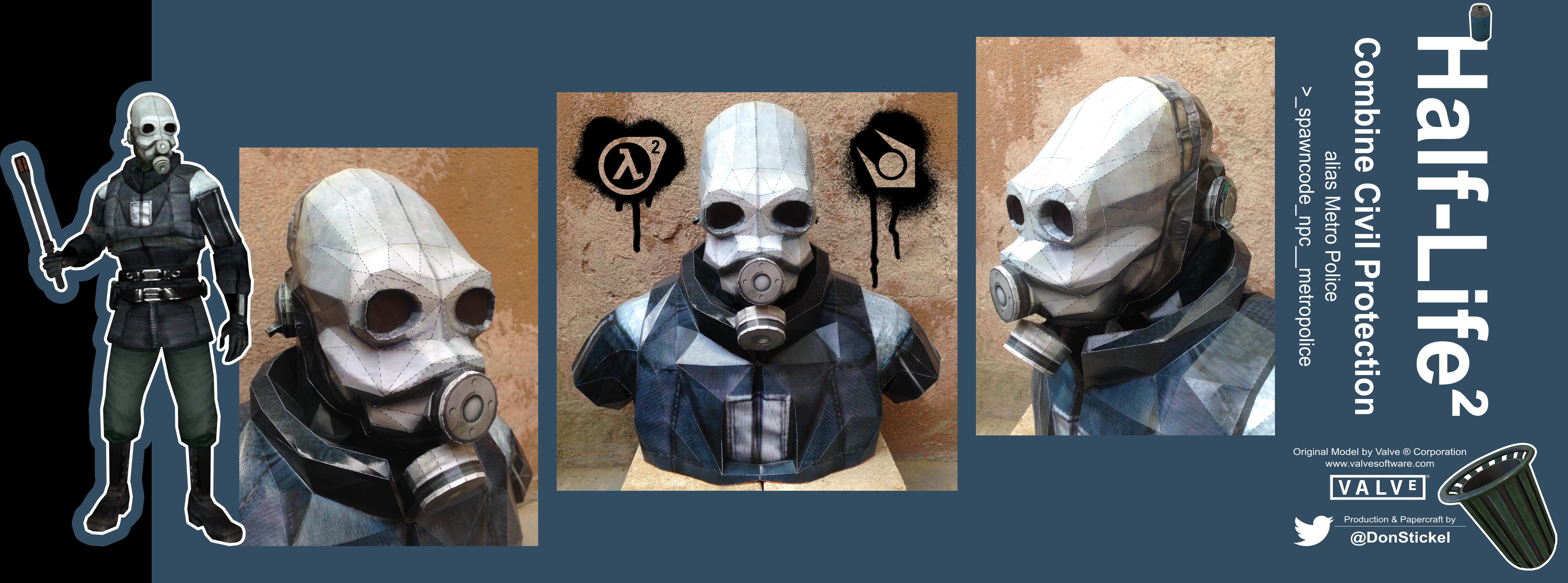 Civil Protection Toys : Cretaceous gas mask by furrydragon