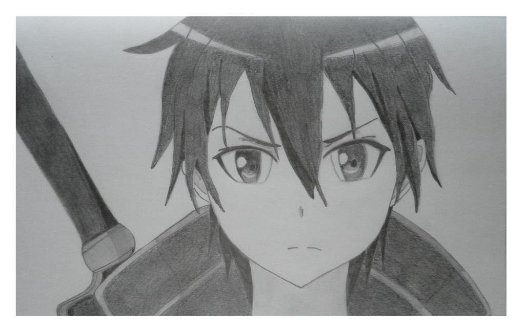Kirito SAO by grafoboho