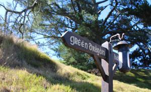 Green Dragon This Way