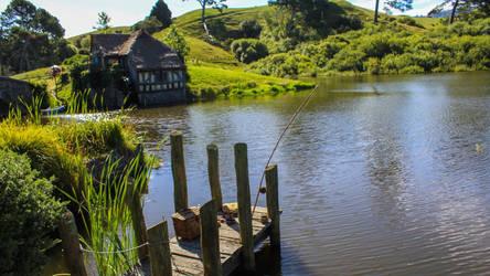 Fishing Wharf by Pickley