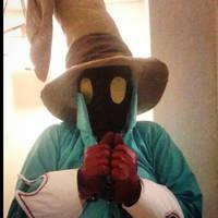 Vivi Final Fantasy VII Cosplay and Chocobo