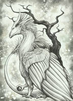 Feathered Simplicity by TheSilverWyrm