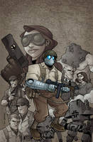 Atomic Robo Vol.2 TPB Cover by swegener