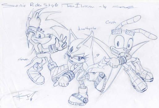 Sonic Rider : Team Ilussion