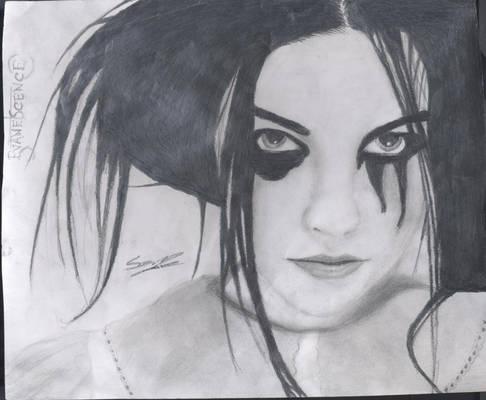 Evanescence portrait 3