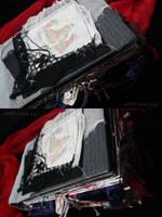 .:: Monster Book . Cover ::. by Nezumi-chuu