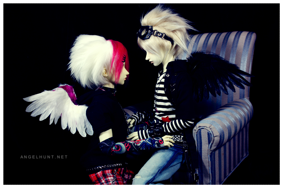 The Angel and his Dark by Nezumi-chuu
