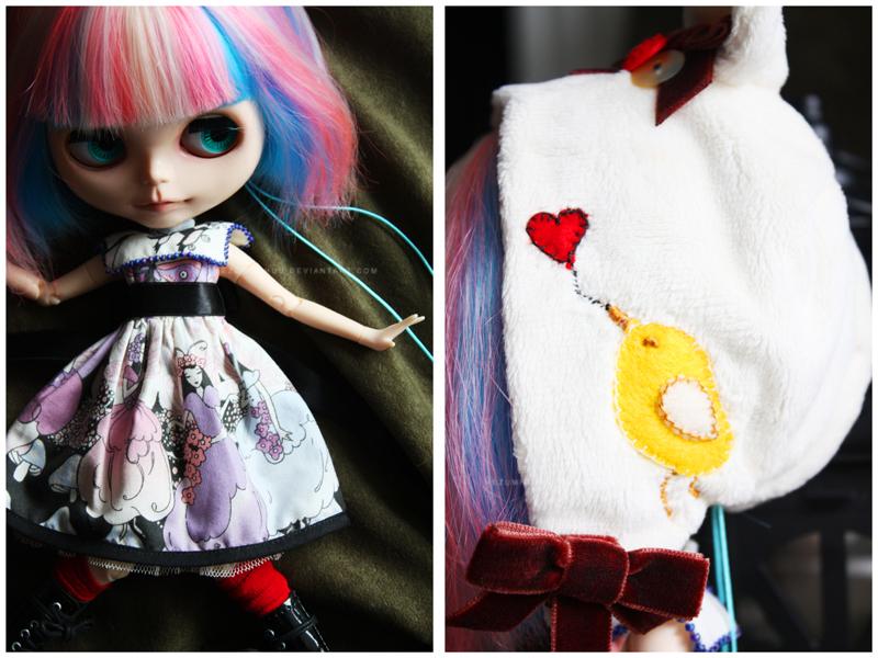 Shoppe : Secret Fairy Garden sets for Blythe by Nezumi-chuu