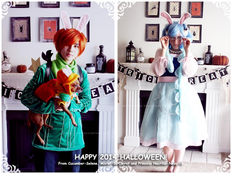 Happy 2014 Halloween by Nezumi-chuu