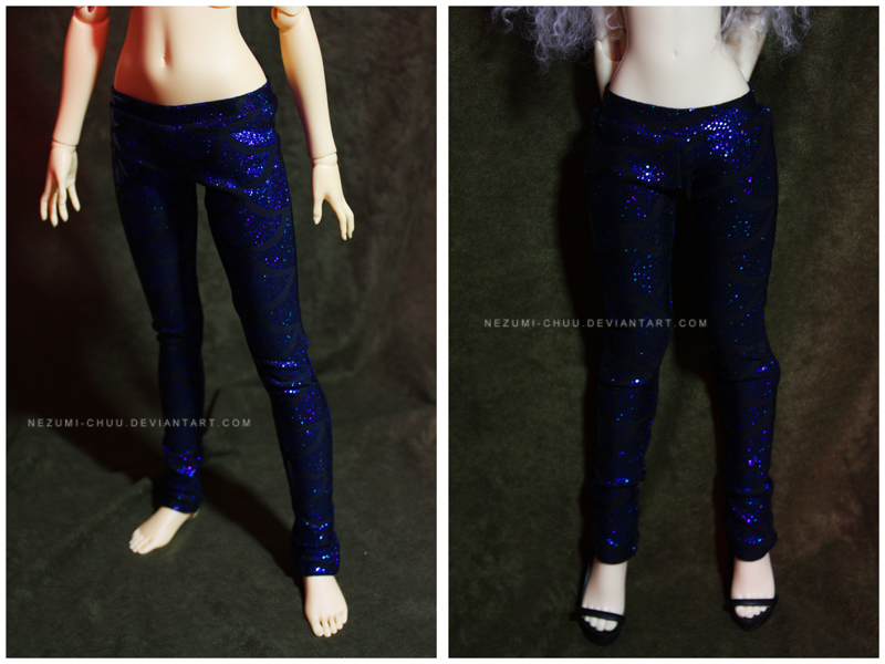 Shoppe : Fish Scale Leggings by Nezumi-chuu