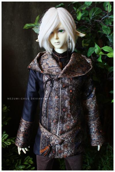 Shoppe : Noir Vintage Coat SG by Nezumi-chuu