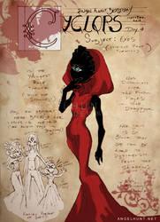 Angel Hunt Beastiary: Cyclops by Nezumi-chuu
