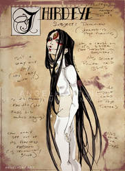 Angel Hunt Beastiary: Third Eye by Nezumi-chuu