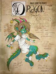 Angel Hunt Beastiary: Dragon by Nezumi-chuu