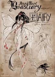 Angel Hunt Beastiary: Fairy by Nezumi-chuu