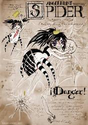Angel Hunt Beastiary: Spider by Nezumi-chuu