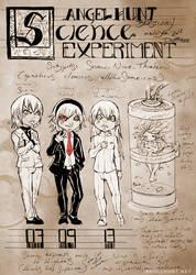Angel Hunt Beastiary: Science Experiment by Nezumi-chuu