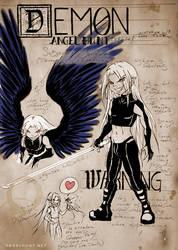 Angel Hunt Beastiary: Demon by Nezumi-chuu