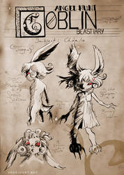 Angel Hunt Beastiary: Goblin by Nezumi-chuu