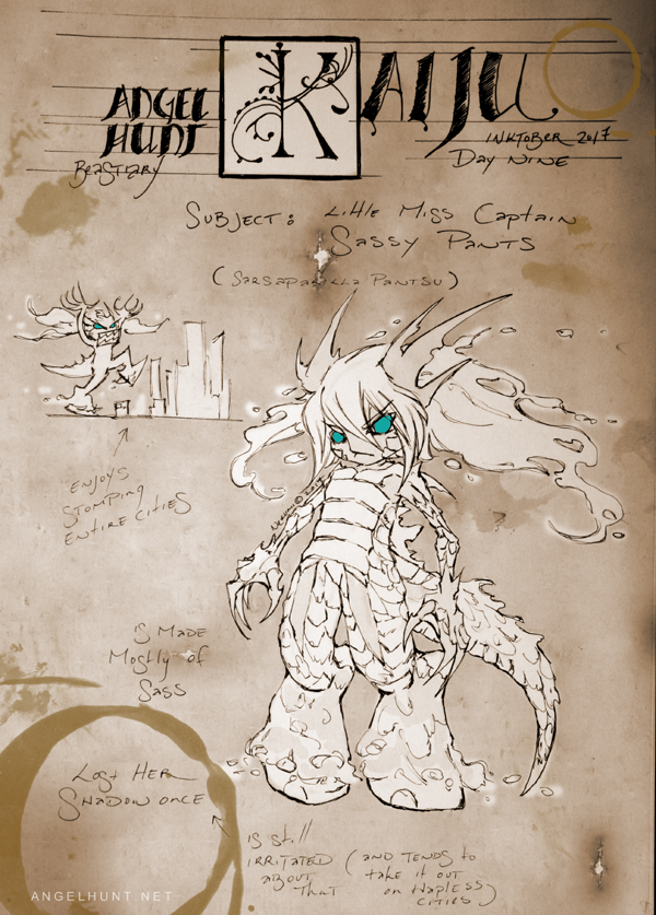 Angel Hunt Beastiary: Kaiju by Nezumi-chuu