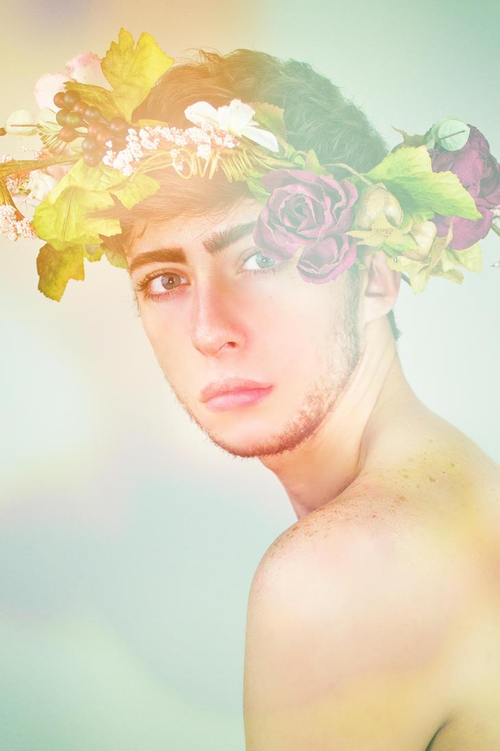 flower crown prince by xxTragic
