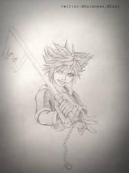 Sora Kingdom Hearts 3 by forgetme000