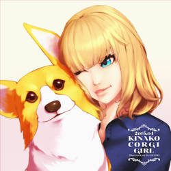 KINAKO CORGI GIRL