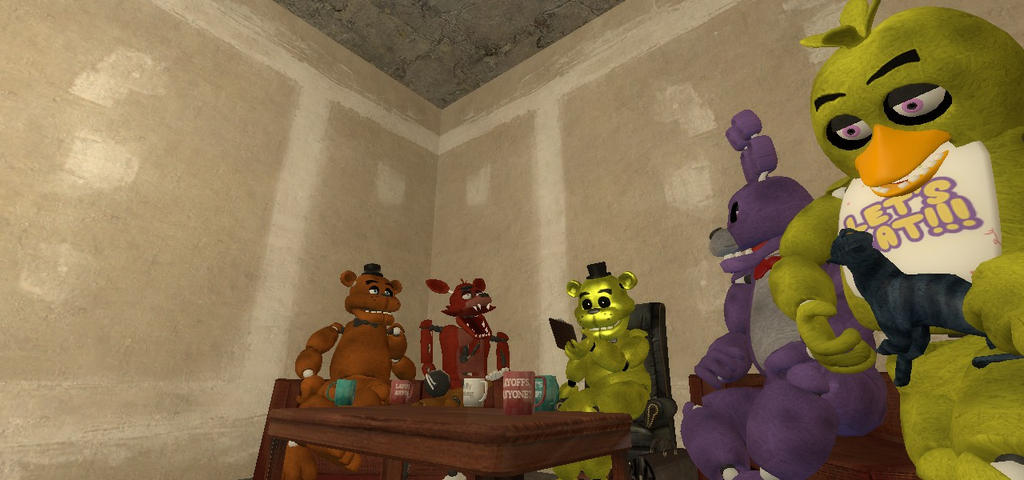 FNaF GMod] Therapy Time with Golden Freddy by SpectreKoix on DeviantArt
